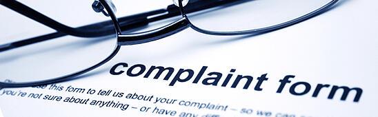complaint form process