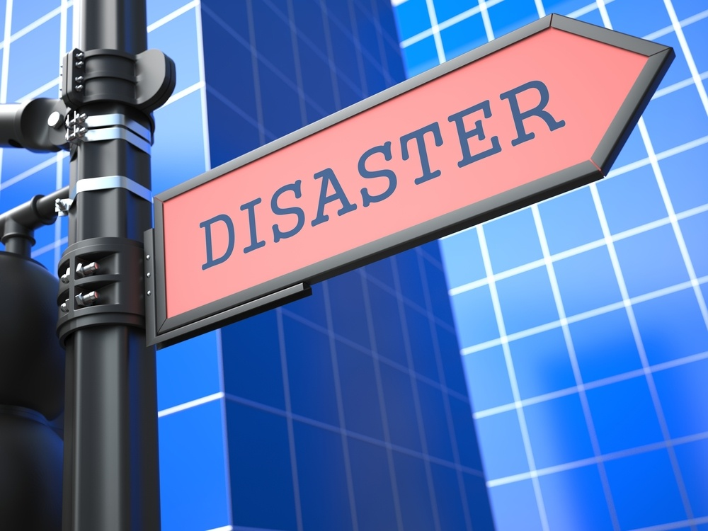 Disaster sign image
